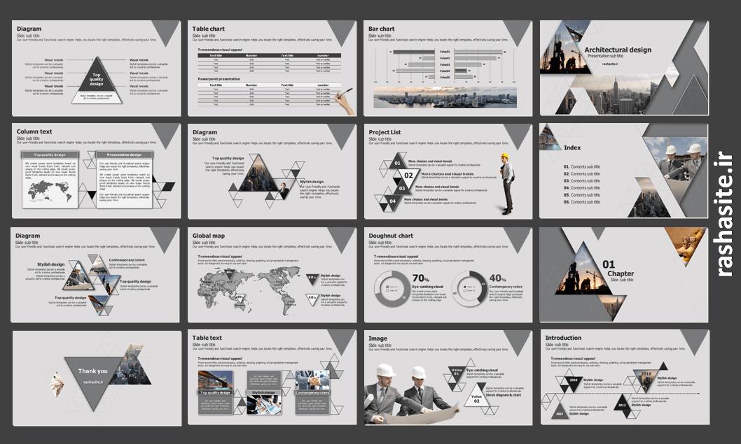 architecture powerpoint theme