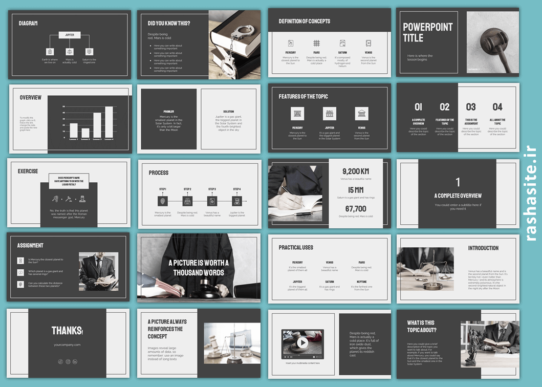 powerpoint theme for law